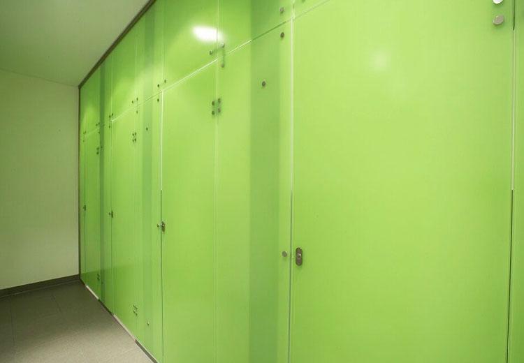 WC-Trennwandsysteme für den Sanitärbereich / HEILER